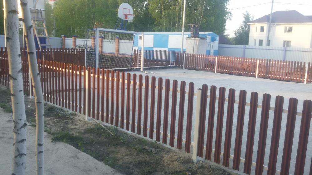 Забор цена тюмень фурнитура для консольных ворот форум